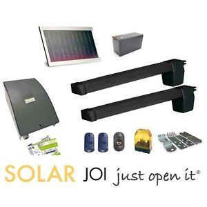 SWING GATE OPENER DUCATI HC619 SOLAR 100% autonomous powered by solar panel