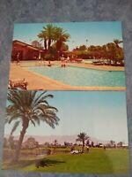 Lot 2 CA PALM DESERT COUNTRY CLUB Pool Golfers Dexter Press postcard L117