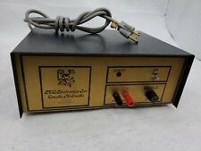 Vintage LDO Electronics Long Distance Operator Ham Radio 15 Amp 13V Power Supply
