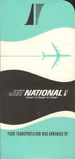 National Airlines ticket jacket wallet 1965 [4121] Buy 4+ save 25%