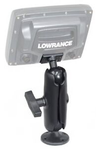 RAM Rugged Use Surface Composite Mount for Lowrance Elite 7 Ti Fishfinders