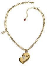 GUESS Halskette / Collier Herz-Serie UBN80918 vergoldet