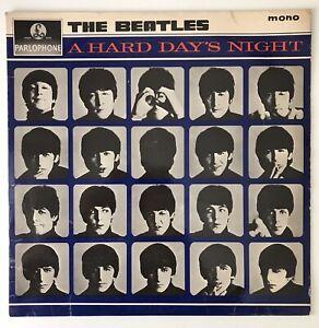 "THE BEATLES - 1964 - ""A HARD DAYS NIGHT"" - PMC 1230 mono MT tax code *VG+/VG*"