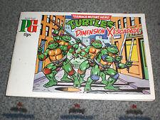 Brooke Bond PG Tips Tea Cards Album TEENAGE MUTANT HERO TURTLES COMPLETE 1990