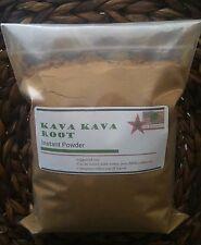1 LB  Instant Kava Kava Root Powder extract 10:1 Fiji 100%  (Piper Methysticum)