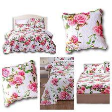 DaDa Bedding Romantic Roses Spring Floral Garden Bedspread Sheets Pillow Covers