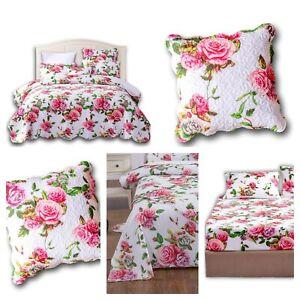 DaDa Bedding Romantic Roses Floral Garden Bedspread Duvet Sheets Pillow Covers