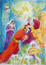 """Ira Moskowitz """"King Solomon"""" HAND SIGNED LIMITED ED LITHOGRAPH Song of Songs"""