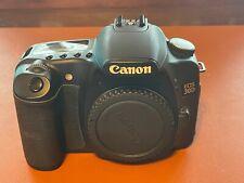 Canon EOS 30D 8.2MP Digital SLR Camera - Black (Body Only)