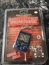 Nintendo Mini Classic Mario's Cement Factory Keyring