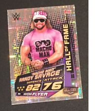 Topps Slam Attax Universe 2019 Macho Man Randy Savage Hall of Fame card