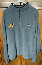 Panther Racing Indy Champ Car IRL CART Crew Fleece Jacket 1/4 Zip Men XL Gray