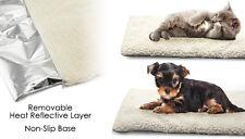 Self Riscaldato Riscaldamento Termico per cane gatto cuscino letto tappetino LAVABILE IN LAVATRICE SUPER CALDA RUG