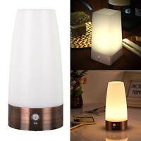 Lámpara LED de luces nocturna PIR Sensor de movimiento modernas Salón dormitorio