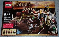 LEGO The Hobbit 79004 Barrel Escape 334 pcs Retired! Brand New & Factory Sealed!