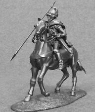 Figures Ancient Greek Toy Soldiers 1/32 Macedonian Cavalry Horse Rider 54mm Tin