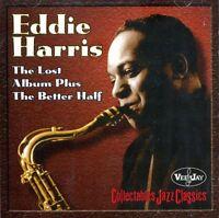 Eddie Harris: Lost Album Plus The Better Half NEW CD