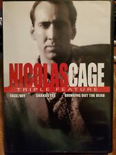 Nicolas Cage Triple Feature Face/off, Snake Eyes,Bringing Out the Dead Like New
