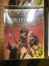 GAUNTLET THE THIRD ENCOUNTER Atari Lynx NEW DAMAGED BOX NOS