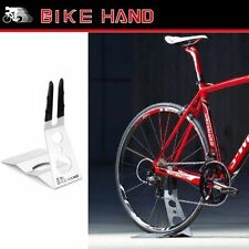 Bike Tire Rest Rack Bicycle Storage Stand Parking Display Compact Portable NEW