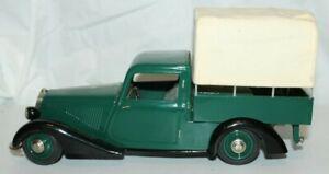 Schuco WWII 1938 MERCEDES-BENZ 170V COVERED PICKUP TRUCK Windup Toy Marklin~1/18