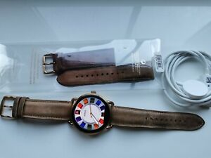 FOSSIL DW2B FTW2102 GEN 2 SMART WATCH IN WORKING ORDER COMES WITH CHARGER STRAPS