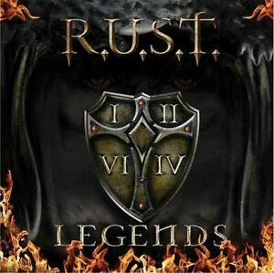 R.U.S.T. Legends + 1 bonus track CD 11 tracks FACTORY SEALED NEW 2011 Pure U Ger