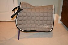 Light brown Schockemohle Jumping saddle pad  Coach plus NWT