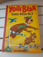 Yogi Bear comic album Number 3 Hanna Barbera World Distributors 1963 AWESOME