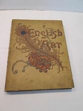 ENGLISH ART IN 1884  VINTAGE BOOK  ILLUSTRATED  HENRY BLACKBURN 1895  ENGRAVINGS