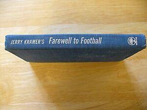 "NFL - Book - ""Farewell To Football"" - Jerry Kramer - 1969 - Hardcover - NICE"