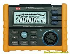 Digital Earth Resistance Tester MCH-9830
