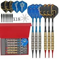 6 Pieces Safety Soft Tip Darts Extra Tips Set for Electronic Soft Dartboard