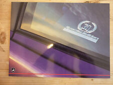 Lamborghini Diablo SE30 Special Edition LARGE FORMAT UK market sales brochure