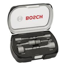 "Bosch 6 Piece Metric 1/4"" Hex Magnetic Tek Screw Nut Driver Setter, 2608551079"