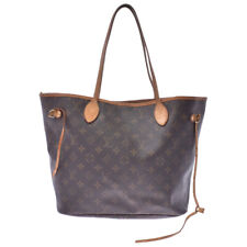 LOUIS VUITTON Monogram Neverfull MM Brown M40156 Hand Bag 800000084309000