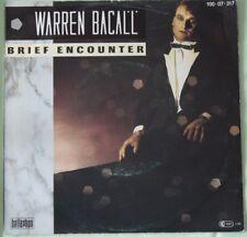 "Warren Bacall  – Brief Encounter  >7"" Vinyl Single 1985"