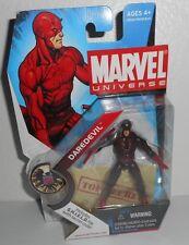 Marvel Universe DAREDEVIL Action Figure 008 Shield File W Secret Code Hasbro New