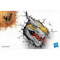 Transformers GRIMLOCK Dinobot 3D Deco Wall LED Night Light Nightlight Gift Toy