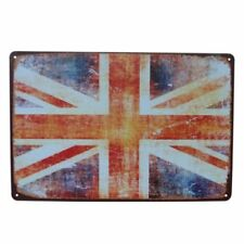 UNION JACK UNITED KINGDOM FLAG GREAT BRITAIN METAL PLAQUE OTHERS ARE LISTED B277