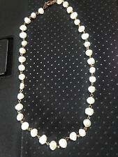 Pearl Necklace Gold Clasp