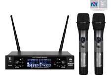 Better Music Builder VM-52U G5 UHF Wireless Microphone System Dual Channel