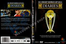 ICC CRICKET WORLD CUP DIARIES. EXCLUSIVE BEHIND THE SCENES STORY. NEW DVD