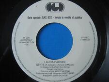 """LAURA PAUSINI """"Gente"""" 45PR0M0 JB"""