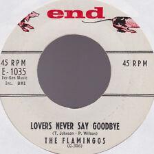 Flamingos Lovers Never Say Goodbye USA 45 W/O PS END