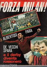 FORZA MILAN!=N°4 1979=RIVERA=MILAN-INTER 2-2 RIMONTA CON I GOL DI DE VECCHI
