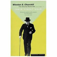 Their Finest Hour: By Churchill, Winston S.