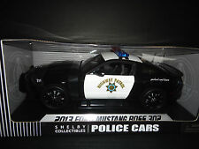 Shelby Collectibles Ford Mustang Boss 302 2013 Police Highway Patrol SC460 1/18