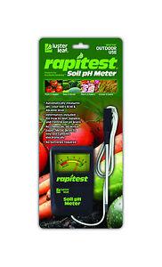 RAPITEST 1840 SOIL pH TESTER WITH CORD LAWN FLOWER PLANT TEST GARDEN TESTER