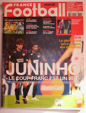 FRANCE FOOTBALL 4 AVRIL 2006 LYON - MILAN AC 1/4 FINALE LIGUE CHAMPIONS JUNINHO